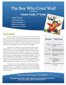 Boy Who Cried Wold Teacher Guide Cover Fairy Tale Theme, Fairy Tales, Engage Ny, Elementary Counseling, Character Education, Reading Activities, Homeschool Curriculum, Book Authors, Boys Who