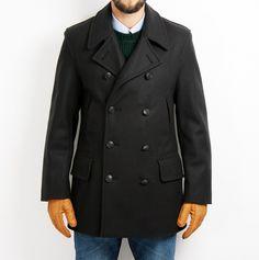 Mens Churchill 10 Button Reefer jacka Gloverall, 3 795 kr Churchill, Work Wear, Buttons, Coat, Jackets, How To Wear, Fashion, Down Jackets, Moda