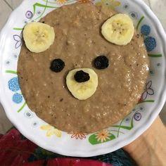 Ceia: Mingau de aveia com banana e cacau  Agora dá licença que a pia tá atolada de louça pra lavar  #90diasemequilíbrio by oucaseucorpo http://ift.tt/1YGZLqj