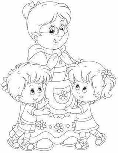 Adult Coloring Book Pages, Colouring Pages, Coloring Pages For Kids, Coloring Sheets, Coloring Books, Printable Stencil Patterns, Halloween Party Activities, Doodle People, Outline Images