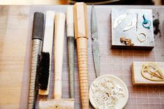 The studio via The Makers by Jen Causey