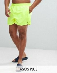 exquisite design on feet shots of sneakers Nike Plus Volley Super Short Swim Short In Green NESS8830 ...
