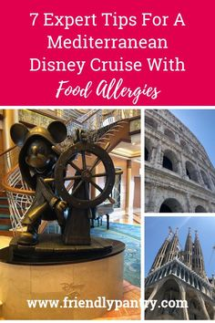 Find out what we learned about food allergy travel on our Disney Cruise Line adventure. Sesame Allergy, Soy Allergy, Tree Nut Allergy, Peanut Allergy, Allergy Free Recipes, Kids Allergies, Healthy Meals For Kids, Gluten Intolerance, Disney Cruise
