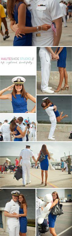 Nuno Family ♥ 32nd Street | Navy Homecoming, Navy Wife, Navy Family, Naval Base San Diego Homecoming ‹ Hauteshoe Studio