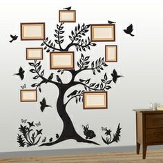 Family tree decal by Silhouette Design.in Adorn your wall with Silhouette Design and see the change in your decor. The most easy way to enhance your space.   mail us at:- info.silhouettedesign@gmail.com