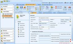 Manage Field Service Work Orders easily with GoServicePro Time Activities, Design Reference, Ui Design, Software, Management, User Interface Design