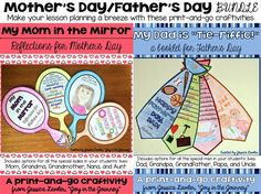 father's day craft upper primary