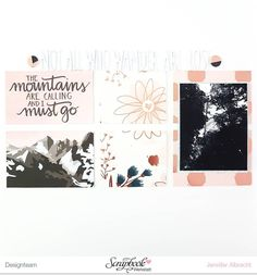 "New month, new sketch. @fishstick_in_love designed this month's sketch for @scrapbookwerkstatt.  My layout features the October Kit ""Wanderlust"". #sbwdesignteam #sbw #scrapbookwerkstatt #scrapbooking #papercraft #papercrafting #craft #crafting #diy #scrapbooklayout #patternedpaper #memorykeeping #sketch #monthlysketch"