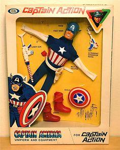 MEGO superhero action figures