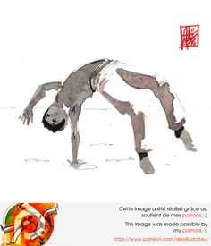 Illustration : Capoeira – 1037