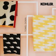 kohler_indiaYou don't have to break the bank to make your bathroom look chic. Even a set of bright and interesting towels can do the trick! . . . #kohler #sink #water #bath #instadaily #nofilter #nofilterneeded #photooftheday #kohlerindia #boldandbeautiful #bathroom #decor #homedecor #design #art #bathtub #accessories #sunday #design #art #geometric #pattern #geopattern #towels #bathroomgoals Kohler Sink, Bathtub Accessories, Bathroom Goals, Bathroom Essentials, Look Chic, Towels, Design Art, Sunday, India
