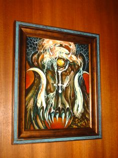 """Tatomir Pitariu """"MERCURY— CYCLOPES - ARGES"""" 2011 Oil and Canvas Board size: 8'x10"""" (10""""x12"""" with frame) Part of """"HELEMENTS"""" this solo Show at The Congregation Gallery See this incredible and Awesome Art : http://www.tatomir.com/paintings/index.htm http://www.congregationgallery.com/"""