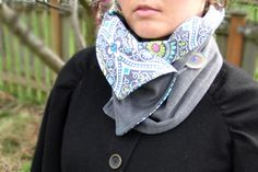 cowl buttoned.