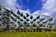 VM Housing designed by Bjarke Ingels