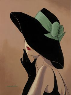 Lorraine Dell Woo ~ Flirty Hat,Lorraine Dell Wood Tutt'Art@ () How To Make Wood Art ? Wood art is generally the task of surrounding about and inside, provided the outer lining of so. Art And Illustration, Portraits, Green Ribbon, Fashion Sketches, Fashion Illustrations, Fashion Art, Art Drawings, Canvas Art, Artwork