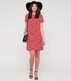 Kleid in der Farbe rot bei C&A