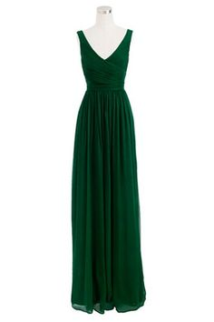 J. Crew Petite Heidi Gown - I immediately loved this when I saw it. And then even more when I saw it was the Heidi gown. That's my name. It's meant to be.