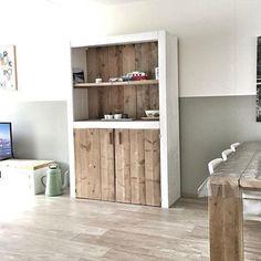 duraline kubussen wanddecoratie set van 3 grijs woonkamer