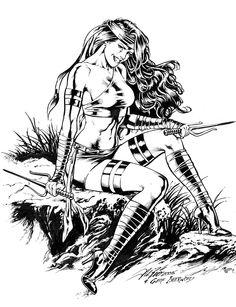 Elektra by Al Rio & Geof Isherwood