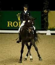 The most beautiful dance is between a horse and his rider! Dressage and Ravel