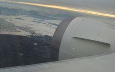 Podejście do lotniska w Pradze