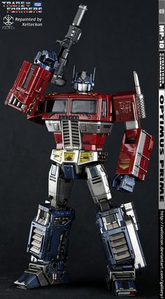 Optimus Prime Repaint - Its You And Me Megs by xeltecon on DeviantArt