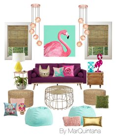 """Sin título #571"" by mar-quintana on Polyvore featuring interior, interiors, interior design, hogar, home decor, interior decorating, Umbra, PBteen, Serena & Lily y Talking Tables"