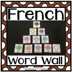 Help your students learn to spell french color words with these versatile cards. Post them around your classroom, use them as an assessment tool, print multiple slides per page and slip them into your pocket chart or your bulletin board, ask your students to place them in alphabetical order or print two copies for a game of Memory! Communicative Competence, Language Immersion, French Colors, Language Proficiency, Learn To Spell, Alphabetical Order, Student Learning, Bulletin Board, Assessment