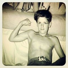 :), Sly Stallone as a kid, young Rocky
