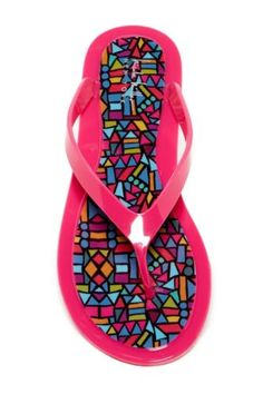 3ce68d3101a NWT-Nicole-Miller-Flipper-Thong-Sandal-FLIPPER-NM-MULTI-COLORS-amp-SIZES