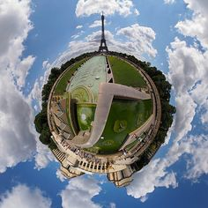 Eiffel Tower planet | by sonic182