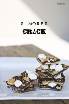 S'mores Crack!  SOOOO good!
