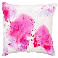shibori spots velvet silk square pillow ABC Carpet + Home NYC