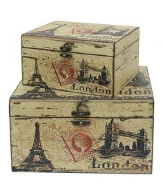 Take a look at this 'London' Box Set by Three Hands Corporation on #zulily today!