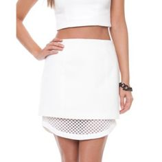 The Embers Skirt - Skirts (Ivory)