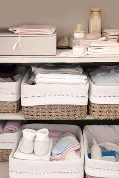 Get great tips on how to prepare a room for baby.