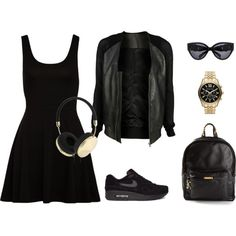 """Black"" by martab on Polyvore"