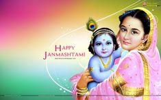 Krishna Janmashtami HD Wallpaper for Desktop