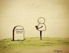 O humor negro e pesado de Gypsie Raleigh. Scary Comics, Comics Love, Dark Jokes, Dark Humour Memes, Dark Humor Comics, Sad Drawings, Cartoon Drawings, Broken Heart Drawings, Dark Thoughts