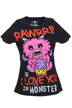 Cupcake Cult - Monster Love T-Shirt  €20.96