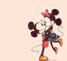 Mickey and Minnie mouse <3
