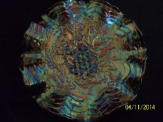 Gorgeous Vintage Imperial Grape pattern by BishopsAntiqueGlass, $75.00