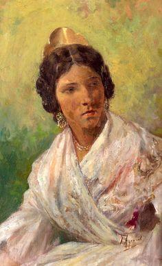 Valencianas pintadas eduardo s nchez sol madrid 1869 - Pintor valenciano ...
