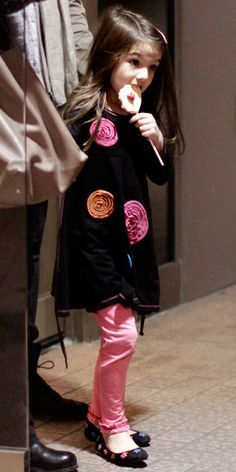 Suri Cruise's Cutest Outfits - A Me + Ko Dress from #InStyle