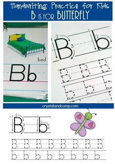 We have a new handwriting practice for kids printable this week! This one focuses on the letter B! This printable is perfect for preschoolers and allows them many different learning aspects. We wil...