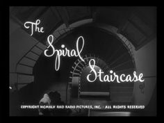 The Spiral Staircase title screen