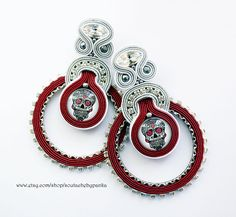 Hey, I found this really awesome Etsy listing at https://www.etsy.com/listing/557070609/long-soutache-earrings-with-swarovski