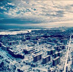 chernobyl, the abandoned city