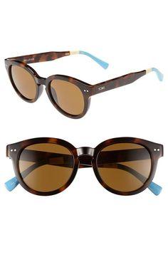 TOMS 'Bellevue' 51mm Sunglasses