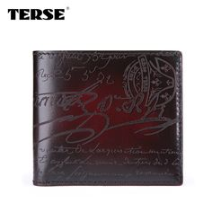 Find More Wallets Information about Vintage Calligraphy script horizontal men's Wallet Brown, Burgundy,Dark green, Blue, Iron gray,High Quality wallet security,China wallet belt Suppliers, Cheap wallet clasps from Terse bags, shoes and belts on Aliexpress.com
